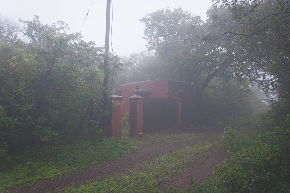 Abhijeet's home in the hills.