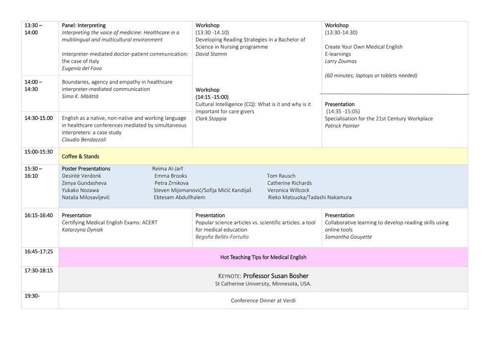 3rd English for Healthcare Conference Programme FINAL version september 21-2.jpg