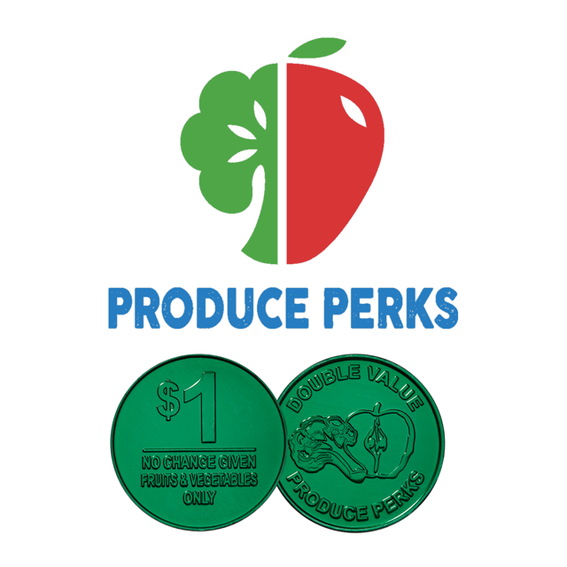 Produce Perks - The Old Brooklyn Farmers Market proudly participates in the Produce Perks Program, which allows Ohioans receiving Food Assistance Benefits (formerly known as Food Stamps) to purchase tokens for all eligible foods sold in the market with their Ohio Direction Card. These tokens are then matched dollar-for-dollar up to $20 with additional tokens that can be used for fresh fruits and vegetables only. All questions pertaining to produce perks can be directed to market manager Emily Hoag at emilyh@oldbrooklyn.com.