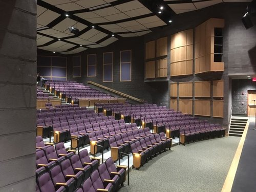 Finished Auditorium