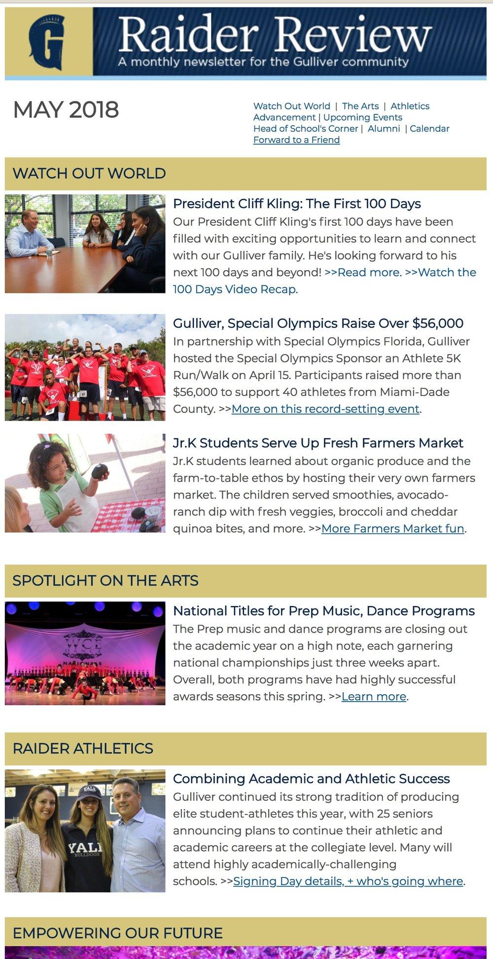 Gulliver Raider Review newsletter education.jpg