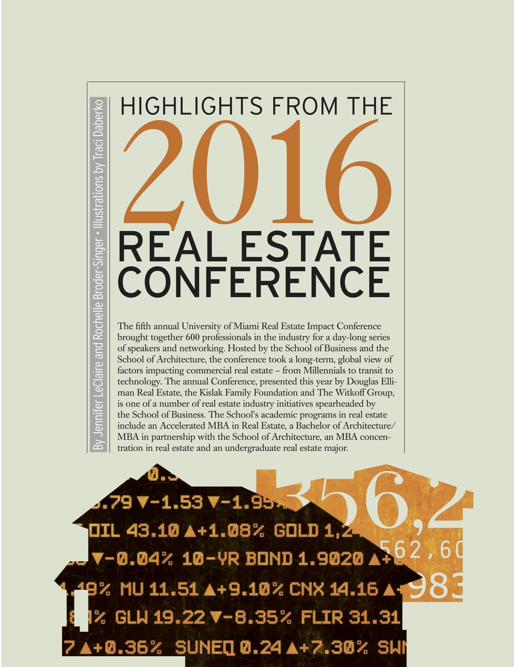 2016 Real Estate Impact Conference -