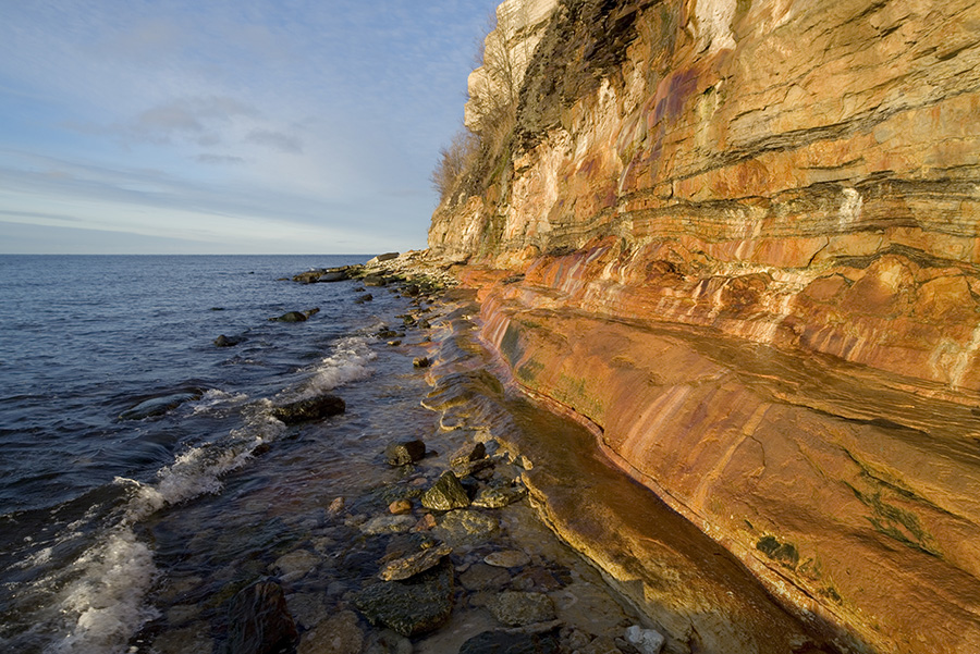 Northern coast cliffs