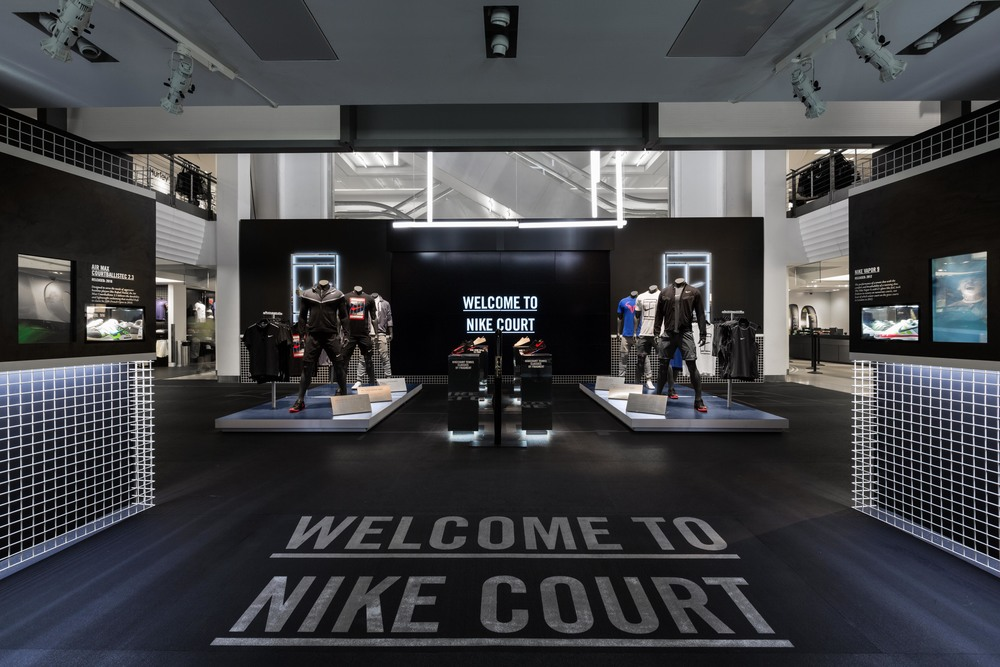US OPEN - NIKE TOWN      N     ikeTown New York, NY  |  2014
