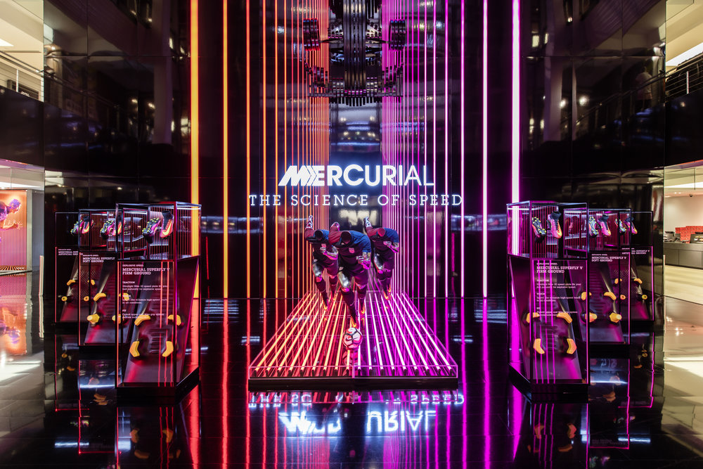 MERCURIAL    NikeTown, New York, NY  |  2016