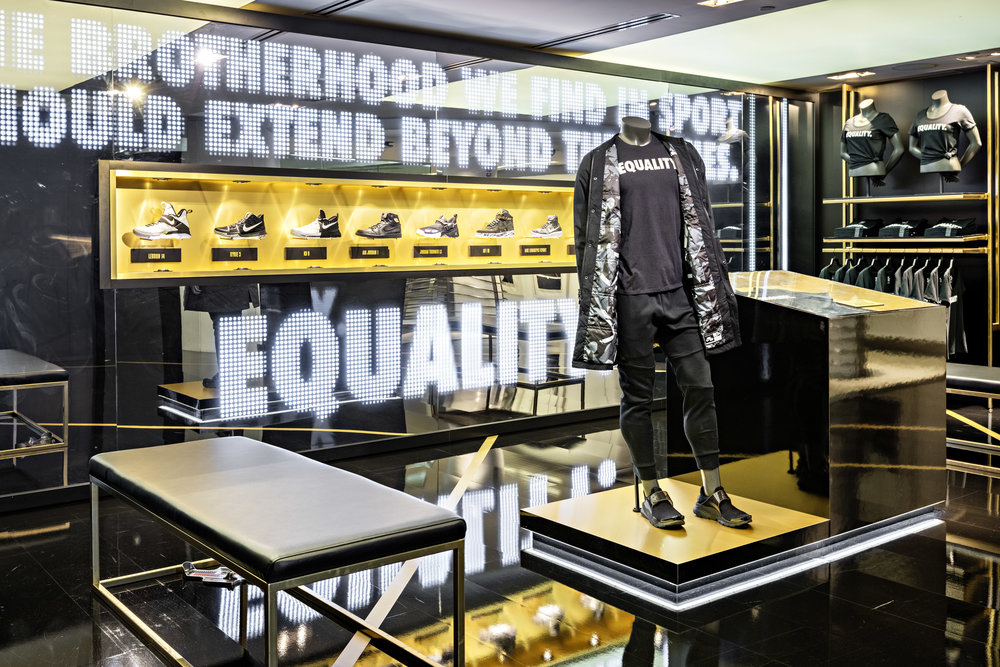BLACK HISTORY MONTH EQUALITY NikeTown New York, NY | 2017