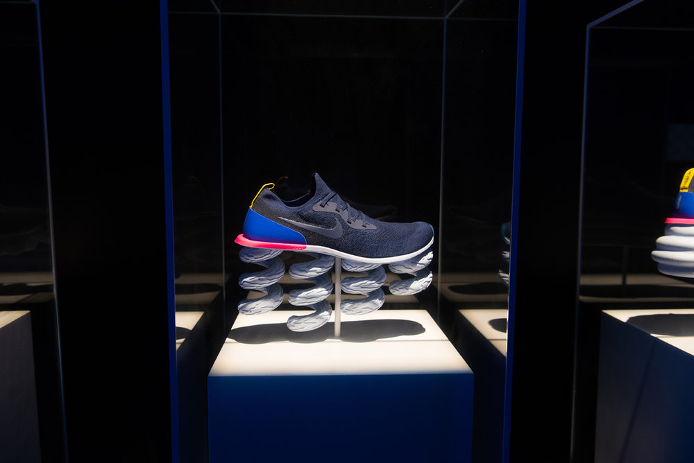 9055961924f9 Celebrating the launch of Nike s revolutionary Epic React shoe our US teams  joined forces in Chicago to bring the one-of-a-kind  House of Go  to life.
