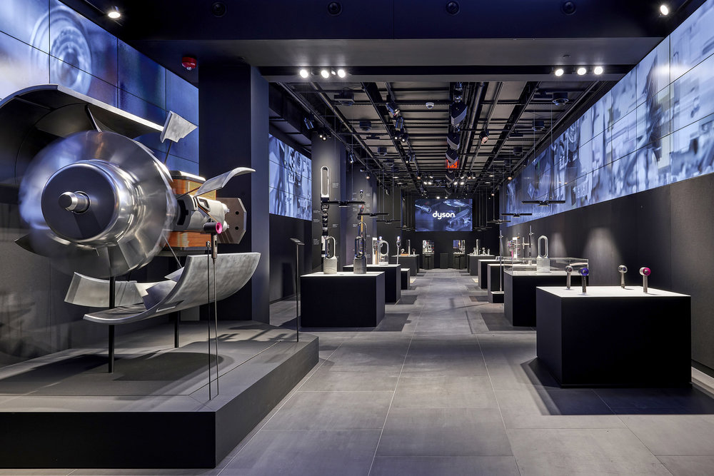 DYSON STORE BUILDS    New York, DC, San Francisco, Toronto | 2017
