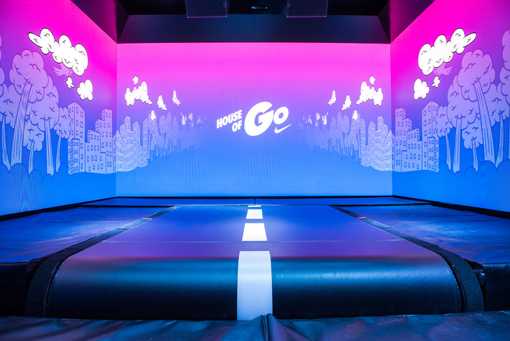 HOUSE OF GO    NIKETOWN CHICAGO | 2018