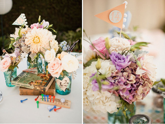 Game Inspired Centerpieces