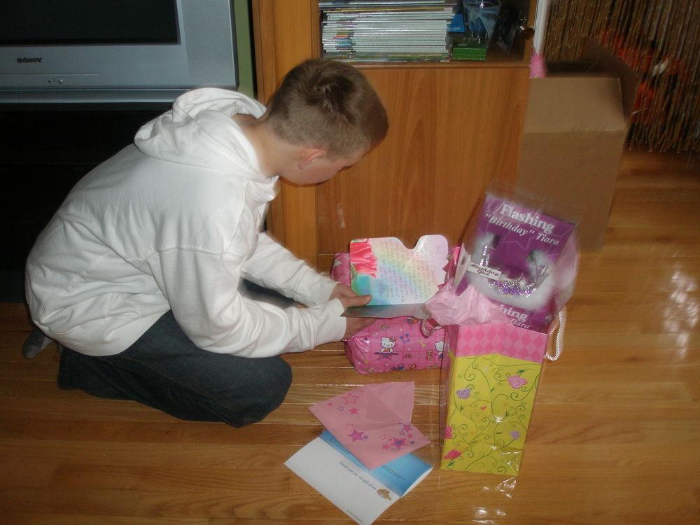 The Tiara and Pink Card