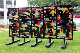 BEST'S MULTIVERSE WALL, FEATURED AT THE THREE RIVERS ARTS FESTIVAL AS THE 2016 create ARTIST OF THE YEAR