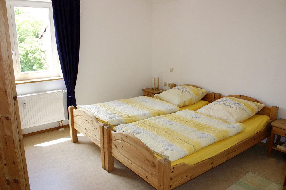 Schlafzimmer Ferienwohnung I