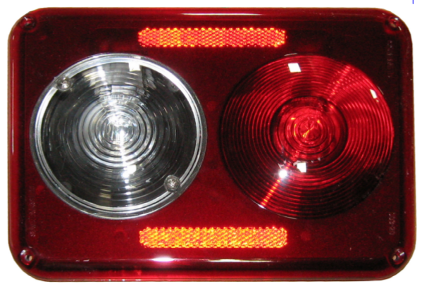 003-20: COMMAND ULTRA MODERN RECESSED DOUBLE 12 VOLT TAIL LIGHT — Command  Electronics
