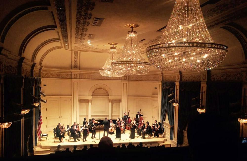 Carnegie Hall,February 2015