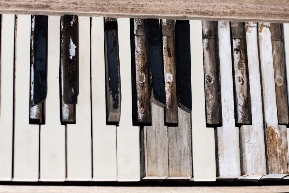 Piano Keys Repair