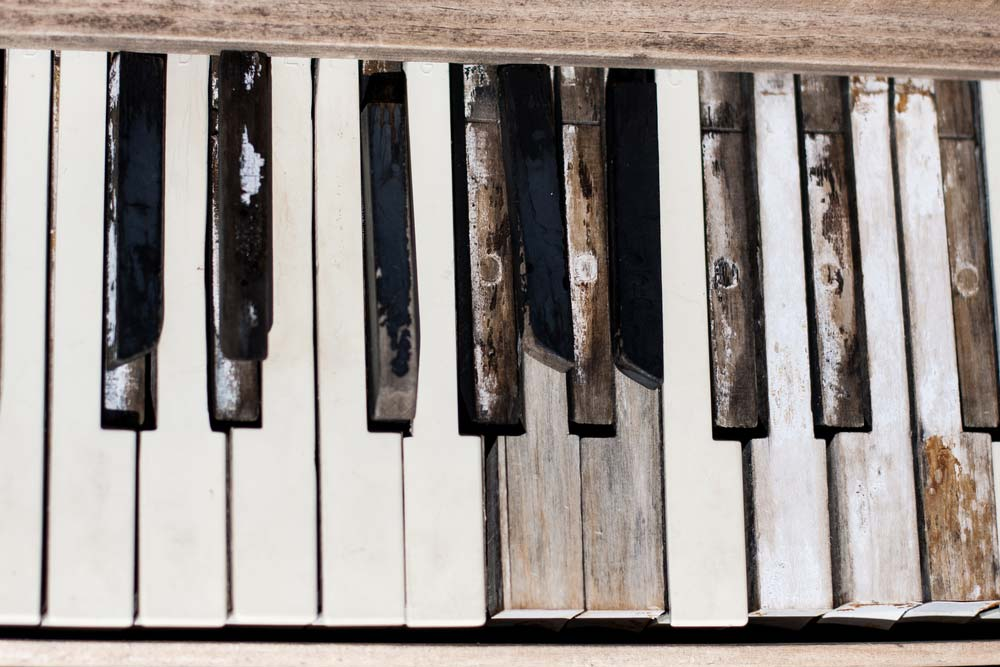 Piano Keys Repair Keys