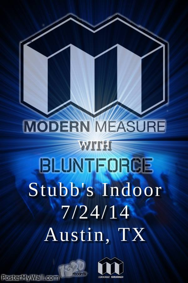Blunt Force Modern Measure Stubb's Indoor Austin Texas Jam Livetronica Future Funk