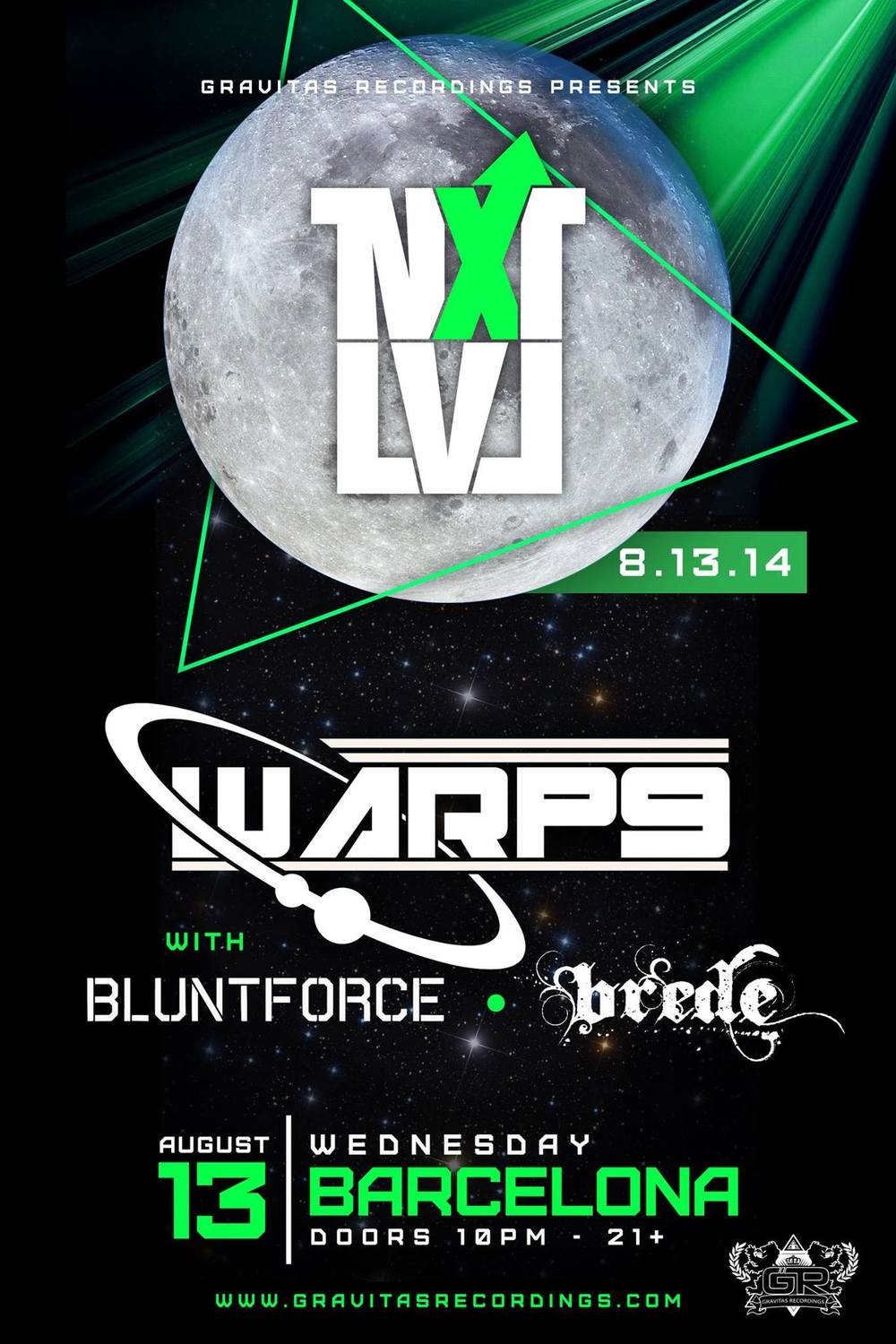 Blunt Force Warp9 Barcelona It Ain't Right Ghetto Funk Glitch Hop Livetronica