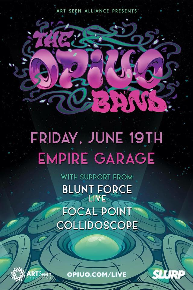 Blunt Force Glitch Hop Opiuo Live Band Empire Control