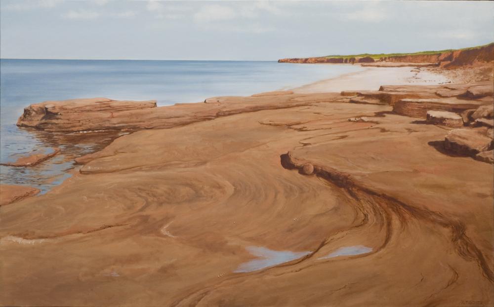"Coastal View P.E.I. (26"" x 42"")"