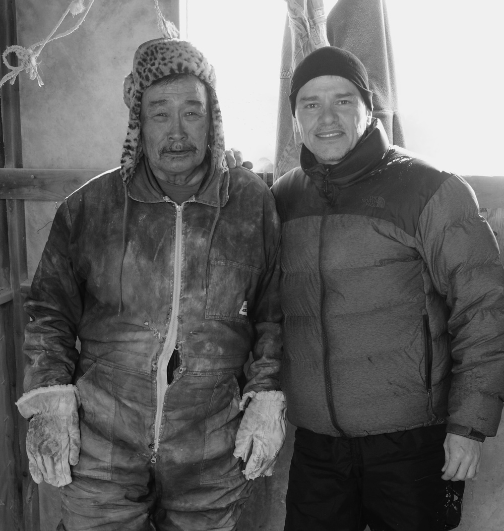 Nuna Parr and Brian Lorimer