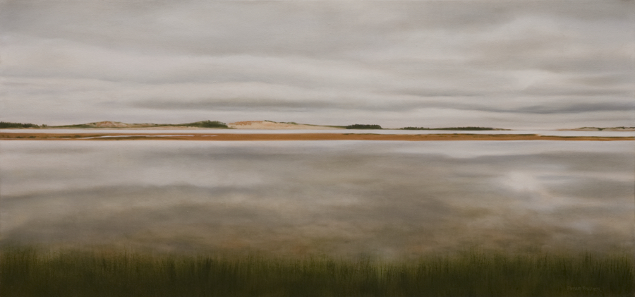 "Tracadie Bay, PEI II (18"" x 38"")"