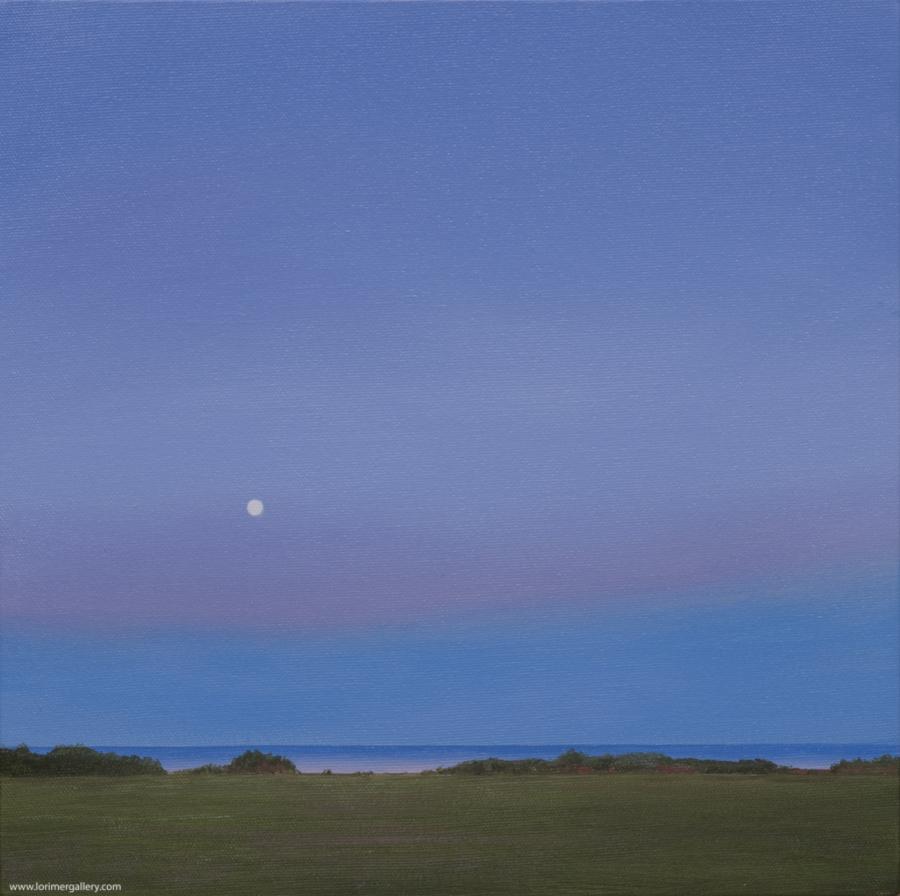 """Moonrise PEI (12"""" x 12"""")"""