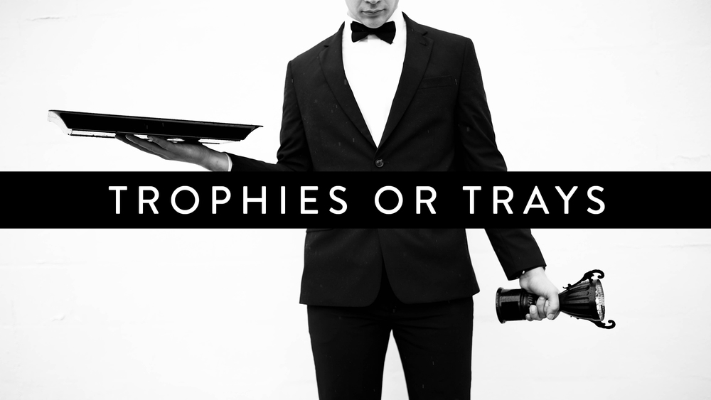 CURRENT SERIES: TROPHIES OR TRAYS// No matter a student's past, present, or perceived future because of who Jesus is and what Jesus has done students are ONE STEP away from being ALIVE. We're taking this next month to talk about living life fully ALIVE by choosing to take next steps towards Jesus.