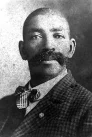 The real US Marshall Bass Reeves, on whom the fictional character was based. An possible also the Lone Ranger.