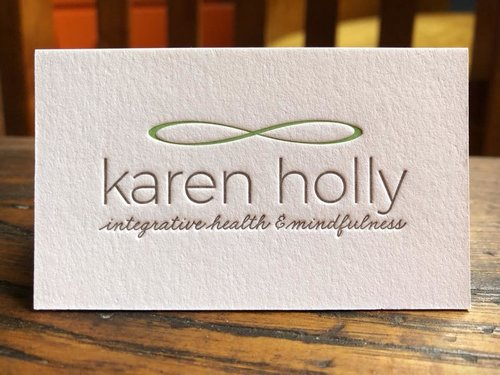 Business cards reb peters press reiki business card reheart Images