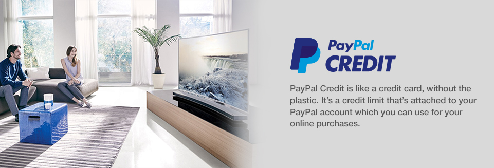 Click here to apply now for Paypal Credit and pay no interest for 6 months if balance is paid in full!