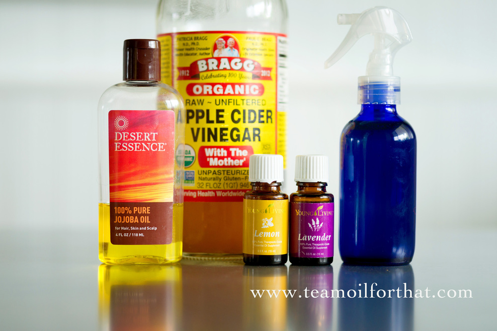 DIY Hair Detangler Recipe with Young Living Essential Oils