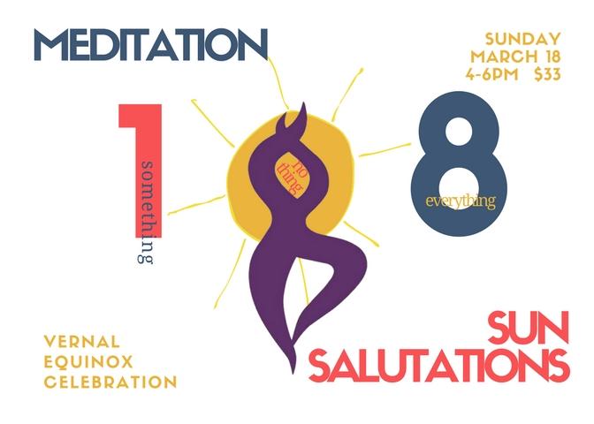 Yang - Sun Salutations Movement and Breath, building heat 4pm