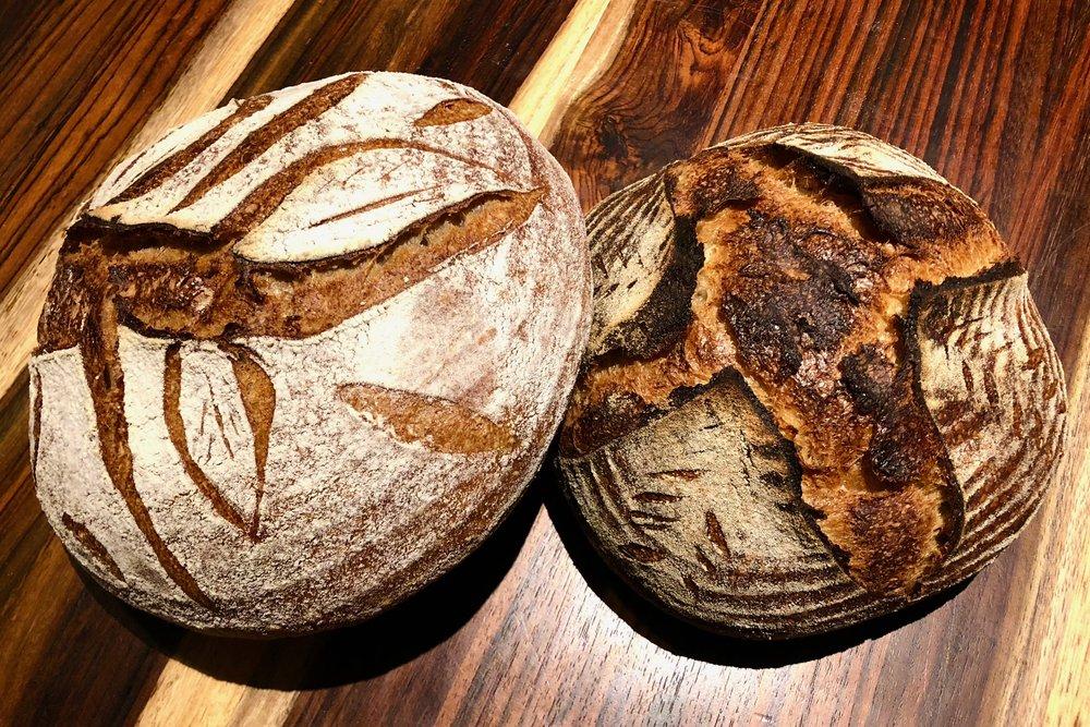 His & Hers Sourdough Bread
