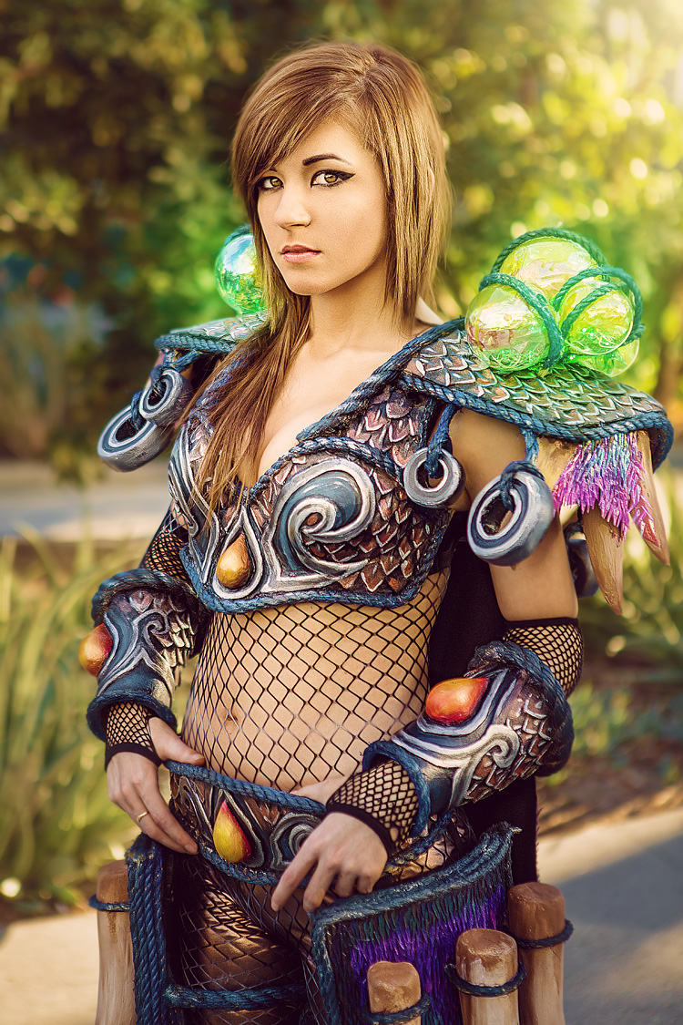 Danielle Beaulieu as Tier 11 Human Hunter of World of Warcraft