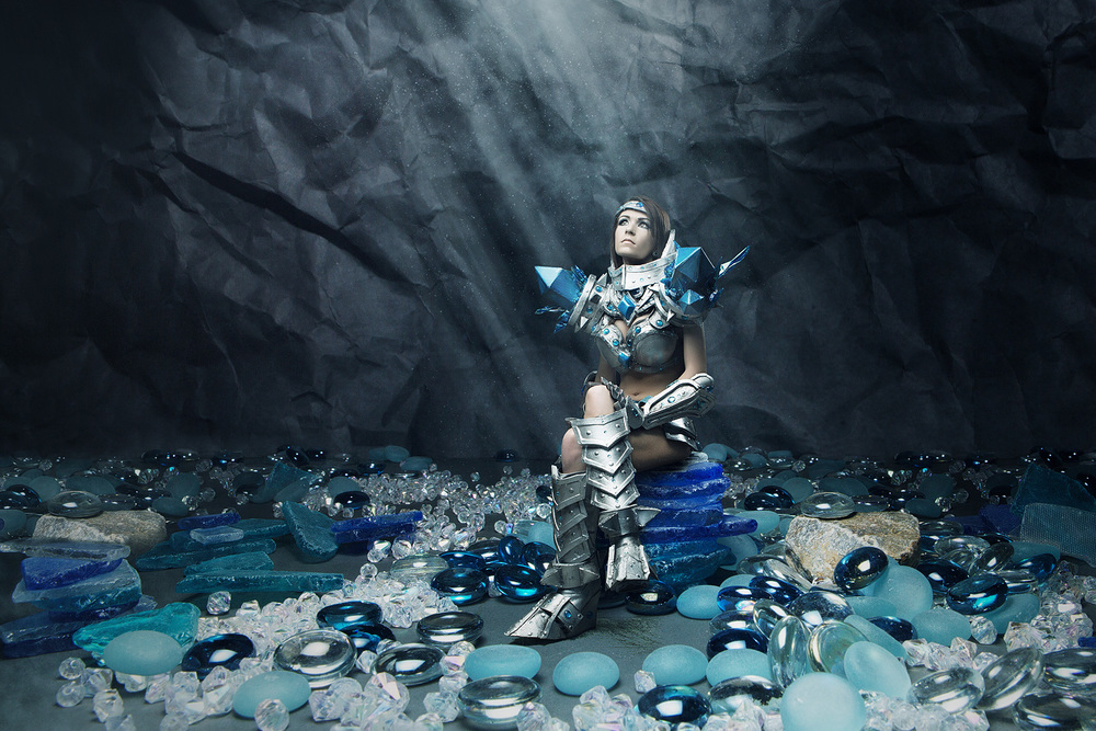 Danielle Beaulieu as Female Taric of League of Legends
