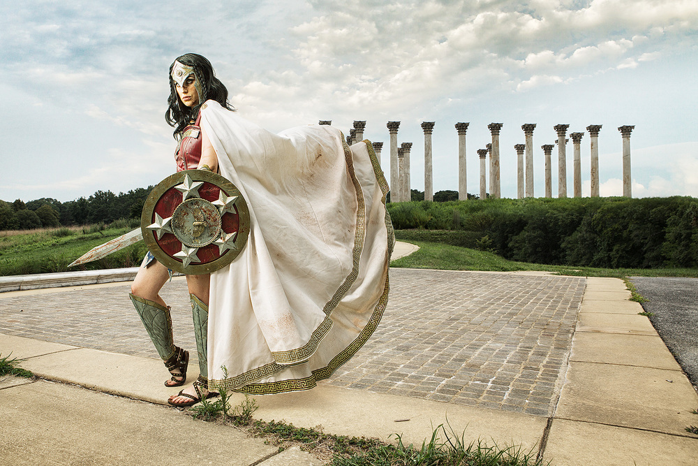 Meagan Marie as Gladiator Wonder Woman