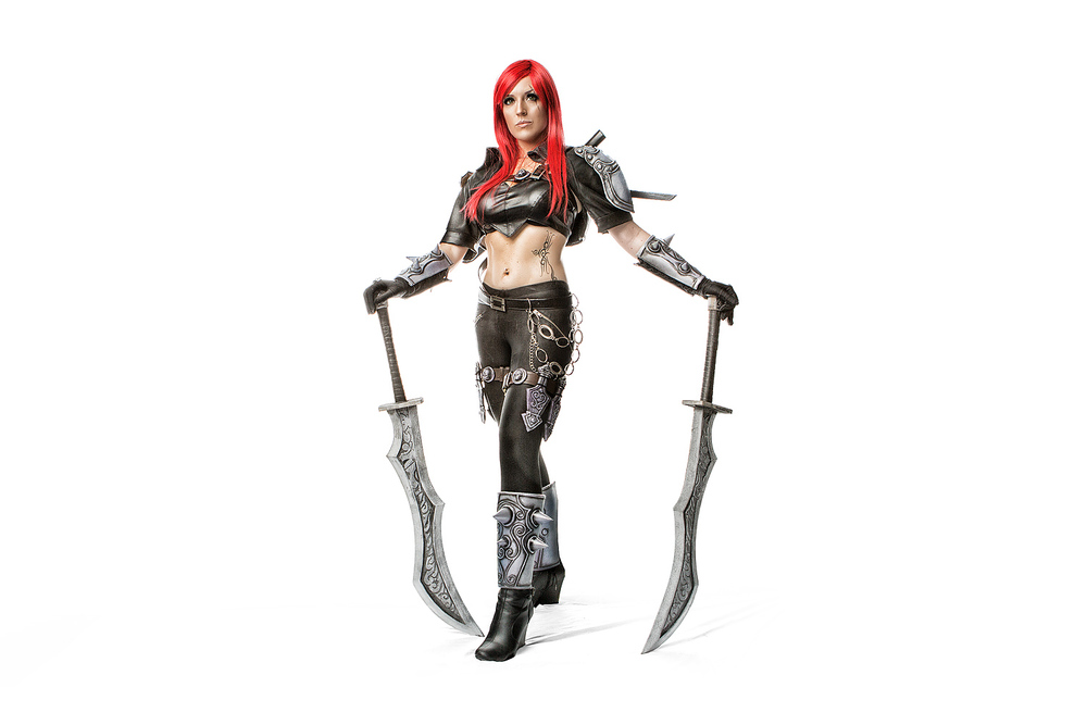 Fantasy Ninja as Katarina of League of Legends