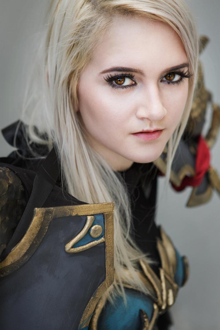 Sarah Catherine as a Human Rogue of World of Warcraft