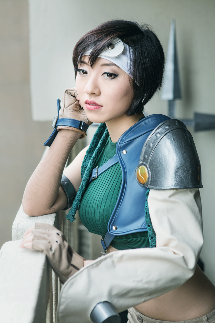 Stella Chuu as Yuffie from Final Fantasy VII