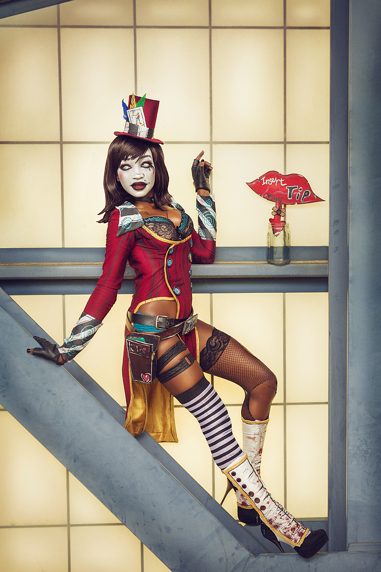 Kaybear as Mad Moxxi from Borderlands