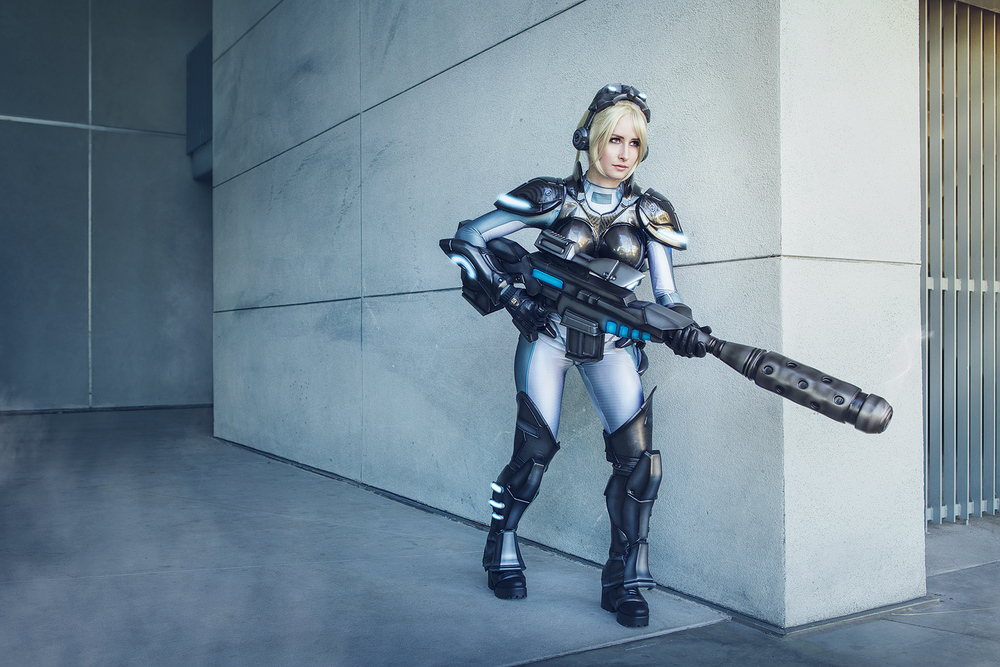 Bindi Smalls as Nova of Starcraft