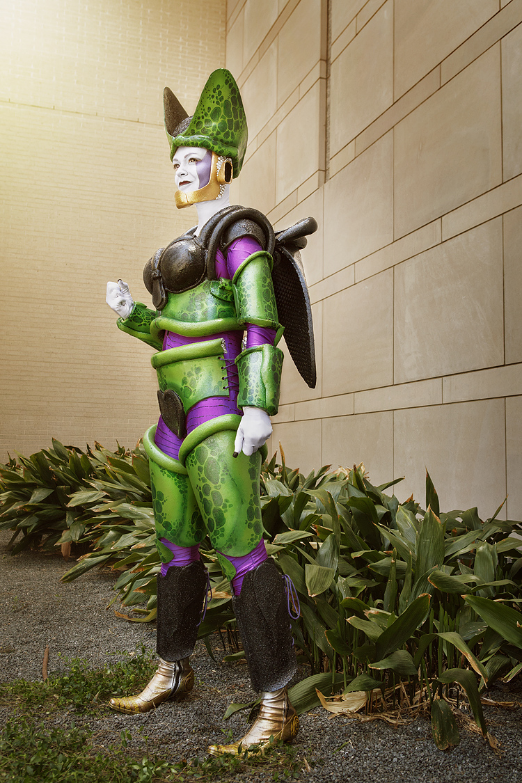 Battyjuice as Perfect Cell of Dragonball Z