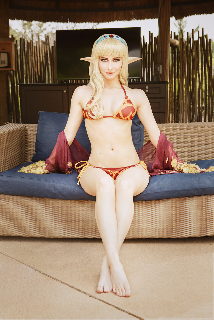 Bindi Smalls as a Blood Elf of World of Warcraft