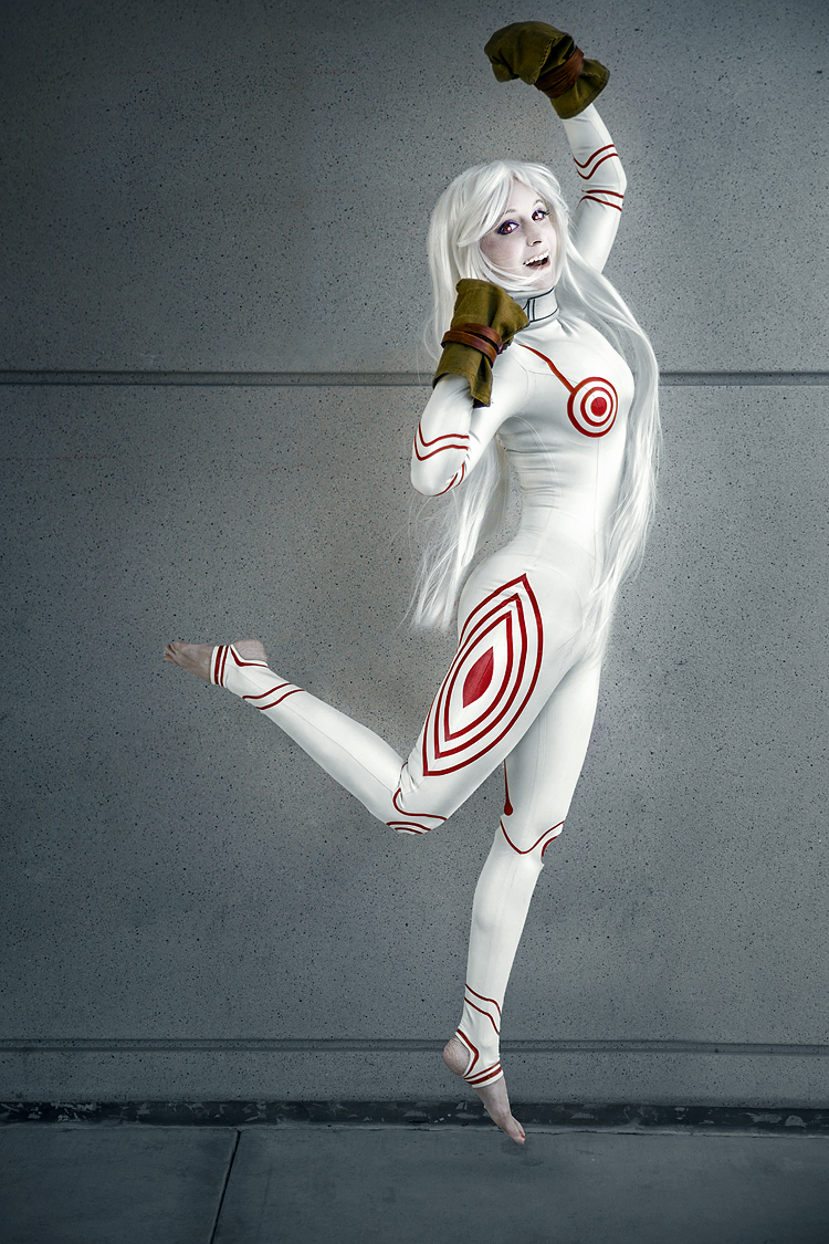 Lauren Bleszinski (@L337Lauren) as Shiro of Deadman Wonderland