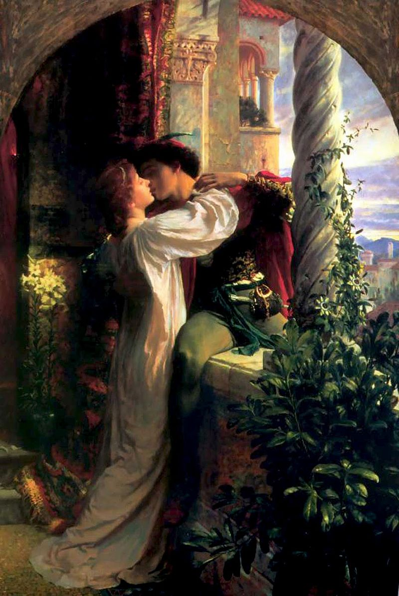 Romeo and Juliet didn't meet online. Their relationship worked out.