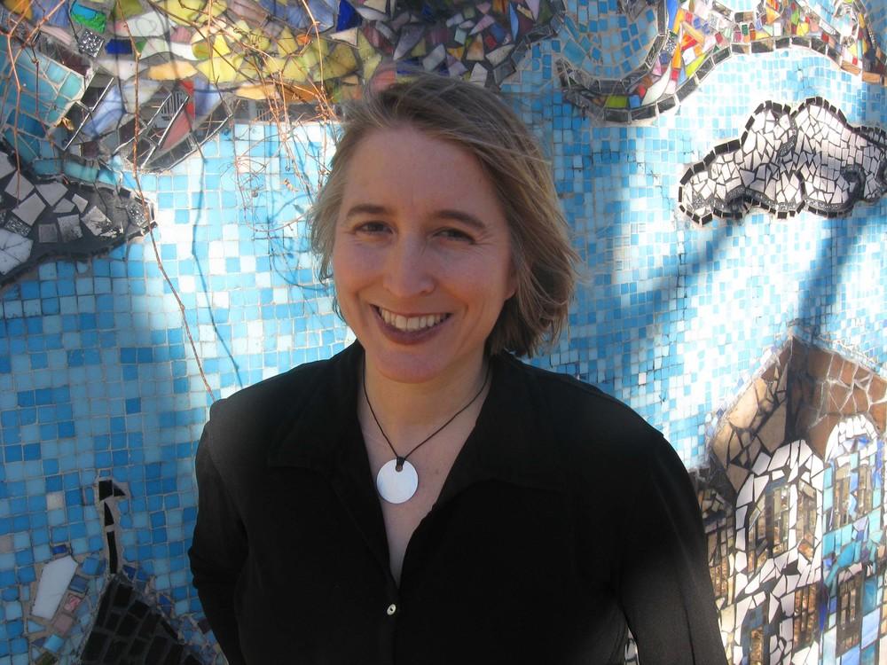Author and teacher Zahara Heckscher.