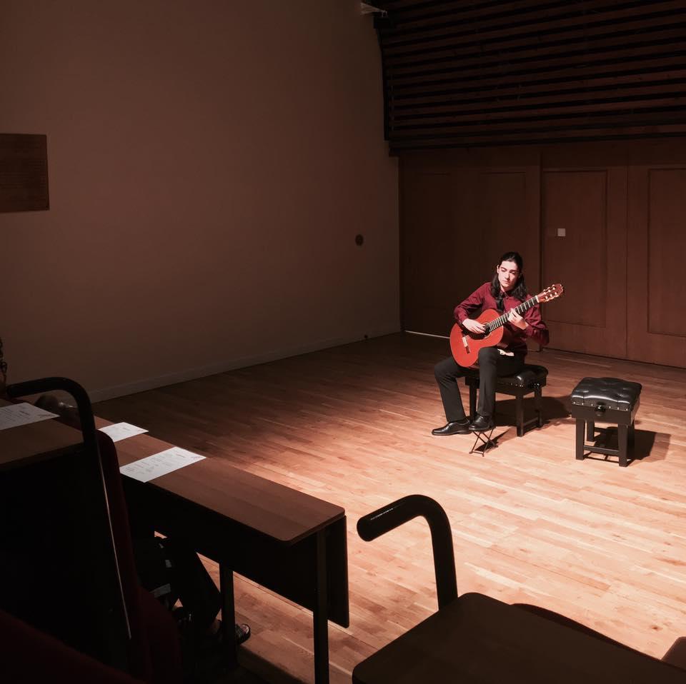 Fábio Fernandes, Four Ways. Lecture and Recital Room na Guildhall School of Music and Drama no dia 13 de Junho de 2017