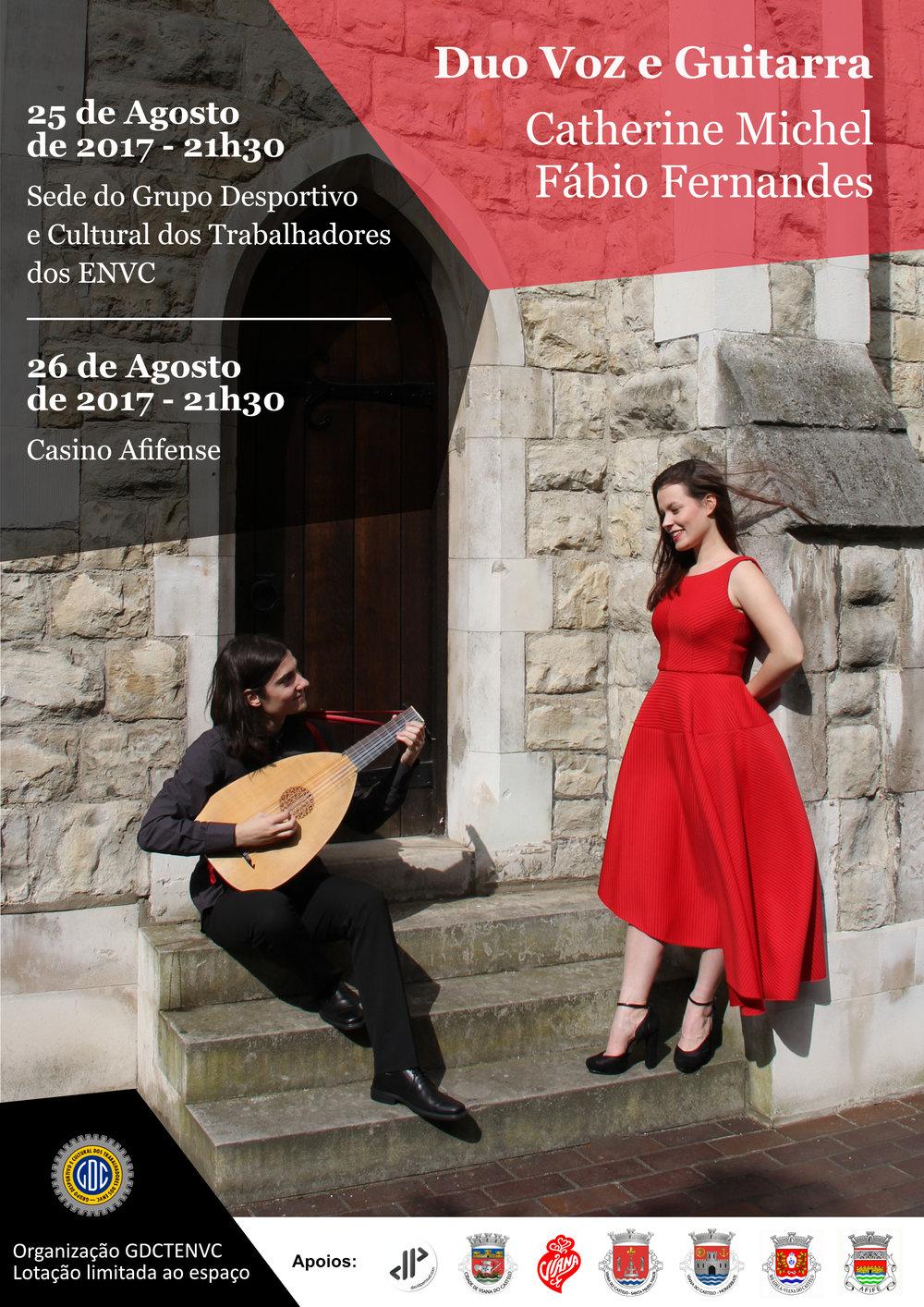 Próximos concertos de Four Ways, por Fábio Fernandes.